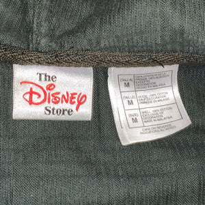 XL - Disney Mickey Goofy Green Soft Zip Jacket