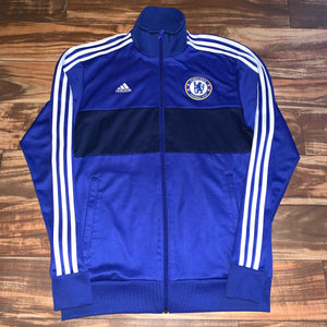 M - Adidas Chelsea Football Club Soccer Track Jacket