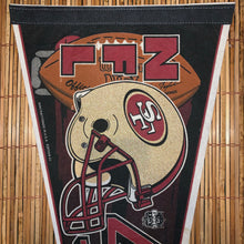 Load image into Gallery viewer, Vintage 49ers Pennant
