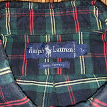 Load image into Gallery viewer, L - Vintage Ralph Lauren Striped Golf Flannel Shirt