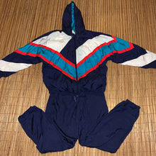 Load image into Gallery viewer, XL/L - Vintage Vibrant 2-Piece Track Suit