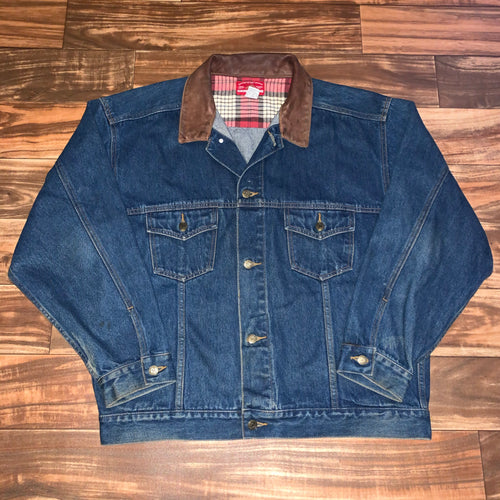 XL - Vintage Marlboro County Store Denim Jacket