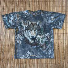 Load image into Gallery viewer, S - Vintage Wolf Camo Nature Shirt