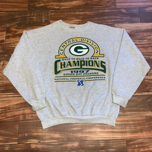 XL - Vintage 1997 Central Division Champs Packers Crewneck
