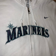 Load image into Gallery viewer, Women's XL - Seattle Mariners Nike Zip Hoodie