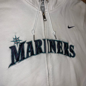 Women's XL - Seattle Mariners Nike Zip Hoodie