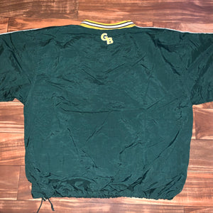 XL/XXL - Vintage Green Bay Packers Titletown Windbreaker