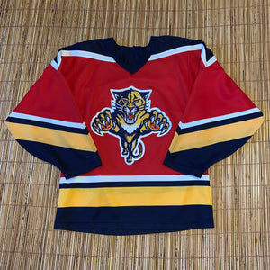 M/L(See Measurements) - Vintage Florida Panthers Hockey Jersey