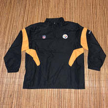 Load image into Gallery viewer, 3XL - Pittsburgh Steelers NFL Windbreaker