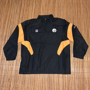 3XL - Pittsburgh Steelers NFL Windbreaker