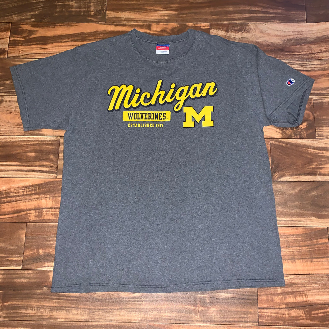 M - Michigan Wolverines Champion Shirt