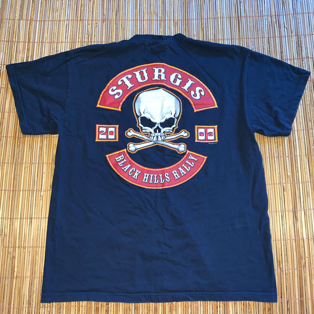 L - Sturgis Black Hills Rally 2003 Shirt