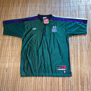 L/XL - Vintage NEW Milwaukee Bucks Puma Shooting Shirt