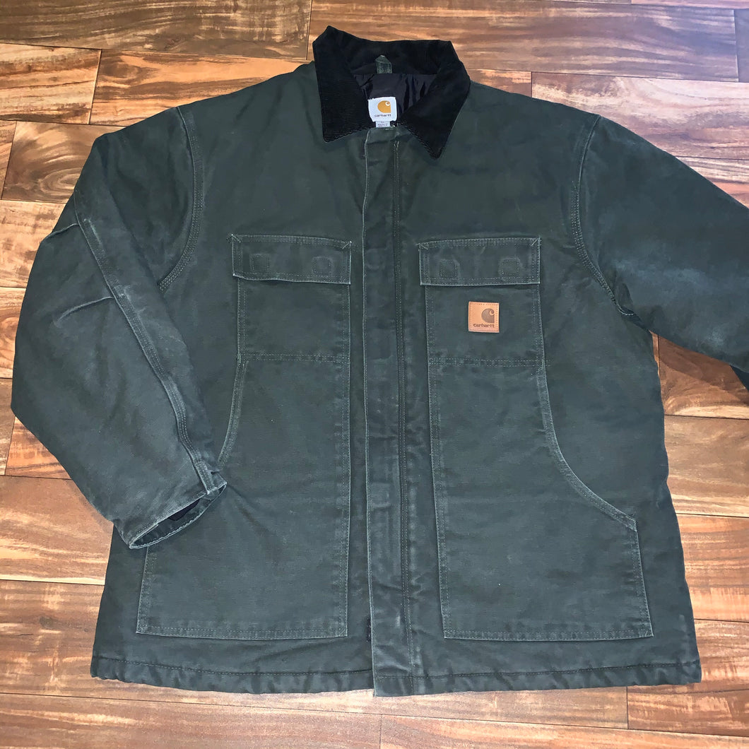 XL/XXL - Carhartt Moss Green Quilted Work Jacket