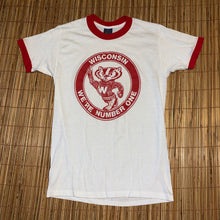 Load image into Gallery viewer, L(See Measurements) - Vintage 1983 Wisconsin Badgers Shirt