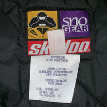 Load image into Gallery viewer, M - Vintage Ski-Doo Team Racing Leather Snowmobile Jacket