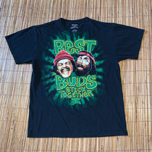 Load image into Gallery viewer, L - Cheech n Chong Best Buds Stick Together Shirt