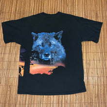 Load image into Gallery viewer, XL - Vintage 2-Sided Cry Of The Wild Wolf Shirt