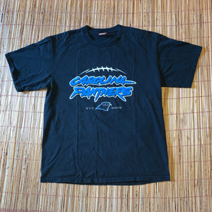 L - Retro Carolina Panthers Shirt