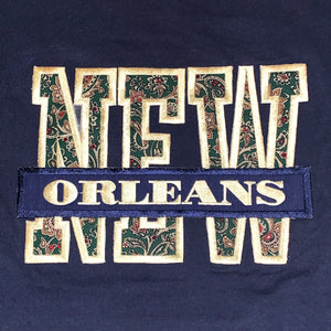 M - Vintage 1980s Embroidered New Orleans Shirt