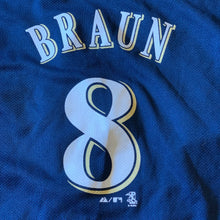Load image into Gallery viewer, M(18/20) - Milwaukee Brewers Ryan Braun Jersey