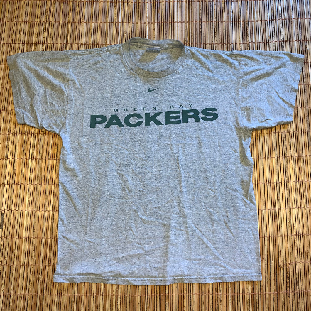 M - Vintage Green Bay Packers Nike Shirt