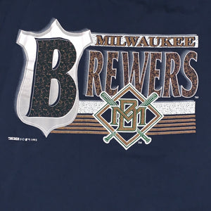 XL - Vintage 1993 Brewers Tank Top Combo Shirt