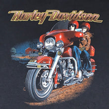 Load image into Gallery viewer, XL - Vintage RARE 1980s Harley Davidson 3D Emblem Shirt