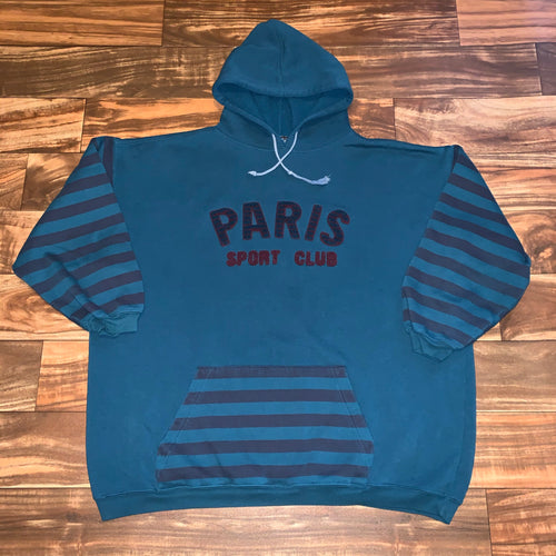 Women's - Vintage Paris Sport Club Hoodie