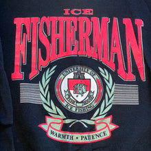 Load image into Gallery viewer, L - Vintage Ice Fishing Crewneck