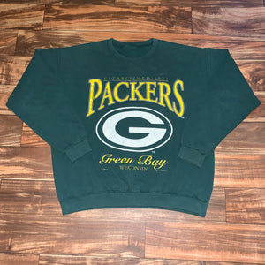 XL - Vintage 1993 Green Bay Packers Crewneck
