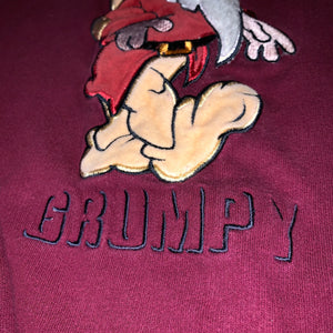 L - Vintage Disney Grumpy Sweater