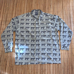 3XL - Vintage Phat Farm All Over Print Shirt