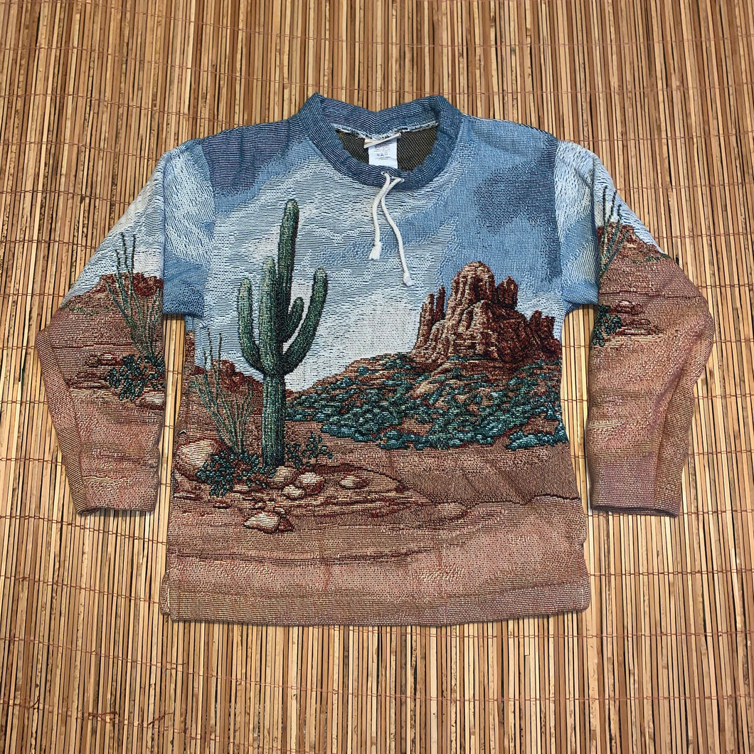 Women's M - Desert Graphic Sweater