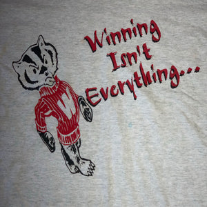 L - Vintage 90s Wisconsin Badgers 2-Sided Shirt