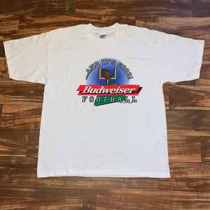 XL - Vintage 1997 Budweiser Football Shirt