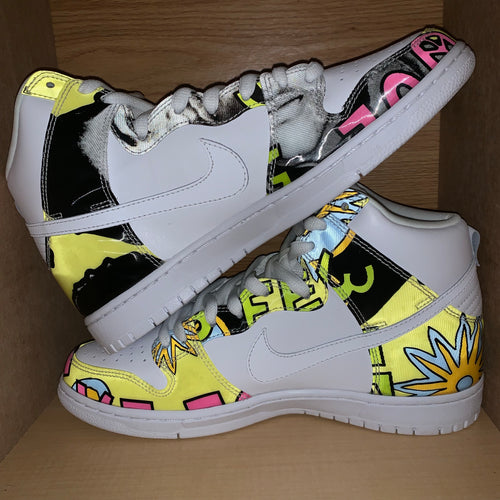 "Size 10 - Nike Dunk SB High ""De La Soul"" New"