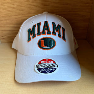 NEW Miami Hurricanes NCAA Hat