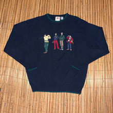 Load image into Gallery viewer, L - Vintage Embroidered Golf Sweater