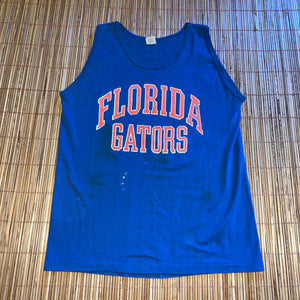 M/L - Vintage 80s Florida Gators Distressed Tank Top