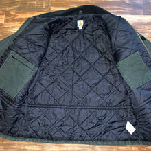 Load image into Gallery viewer, XL/XXL - Carhartt Moss Green Quilted Work Jacket