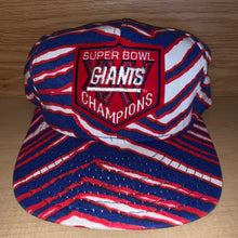 Load image into Gallery viewer, Vintage 1991 Super Bowl XXV Giants Hat