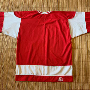 M(Fits Big-See Measurements) - Vintage 90s Starter Wisconsin Jersey