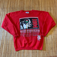 Load image into Gallery viewer, L(Fits Big-See Measurements) - Vintage 1994 Badgers Rose Bowl Sweater
