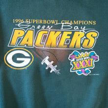 Load image into Gallery viewer, M - Vintage 90s Packers Super Bowl Sweater