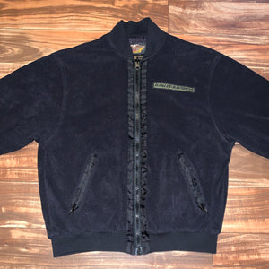 M - Harley Davidson Full Zip Fleece Jacket