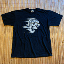 Load image into Gallery viewer, L - Vintage 2000 Liquid Blue Skull Rider Shirt