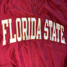 Load image into Gallery viewer, XXL - Vintage Florida State Seminoles Lined 1/4 Zip Windbreaker