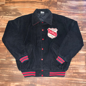 XL - Vintage Milwaukee Youth Hockey Corduroy Quilted Jacket