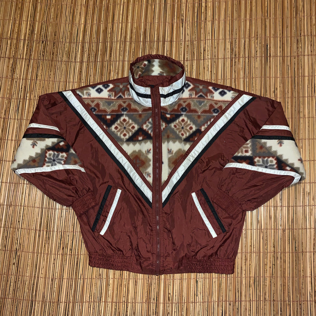 M - Vintage Retro Style Native Print Jacket